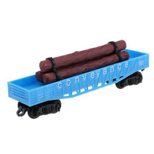 1/87 Simulation Electric Track Train Freight Cars Model Railway Carriages E