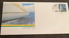 1986 Americas Cup Apo Fdc Fremantle Wa Postmark