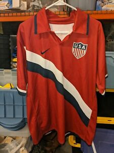 U.S. SOCCER NIKE DON'T TREAD ON ME 2006 JERSEY - RED, XL