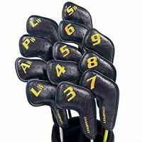 Champkey Ostrich Golf Iron Head Cover Pack of 12pcs