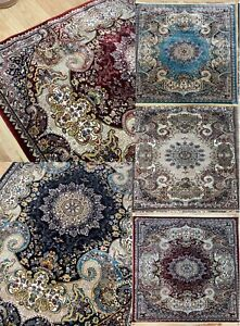 Traditional Rug Classic Floral  Design Timeless Any Room Soft Anti Slip