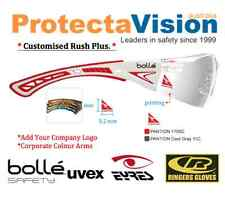 Bolle Safety Customised Rush Plus Corporate Colours, add your Logo, Min Qty 1200
