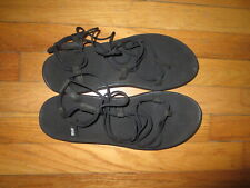 Women's Teva Black Sandals Size 11 Very Good Condition