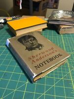 Sherwood Anderson's Notebook ~ 1926 ~ First Edition ~ First Printing ~ RARE