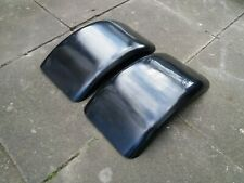 TRIKE MUDGUARDS PAIR BLACK FIBREGLASS PROJECT 017