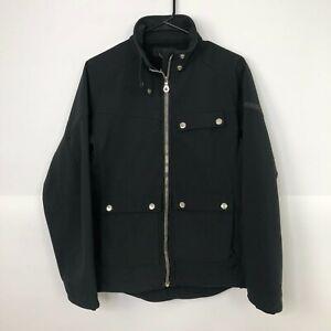 Solstice Women's Medium Full Zip Outdoor Jacket Black