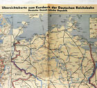 Übersichtskarte zum Kursbuch der Dt. Reichsbahn DDR Städtischer Nahverkehr (2)