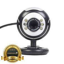 6 LED USB PC Webcam Web Camera 1.2 MP Night Vision For Desktop Laptop Notebook