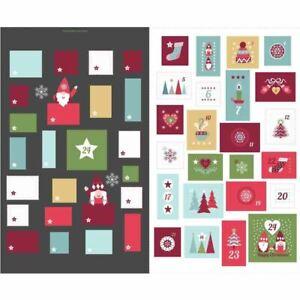 Hygge Christmas   Lewis and Irene   C32.3 Advent Calendar Slate Panel