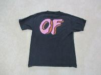 Odd Future Shirt Adult Medium Black Pink Wolf Gang Tyler The Creator Mens A35*