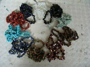 Wholesale gem-chip bracelets x 50  (no 4)   U.K. seller since 2003