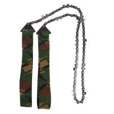 Lovoski Camping Pocket Wire Saw Hand Chainsaw Outdoor Survival Tool Camo