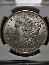 More details for 1885 morgan dollar ms64 graded ngc