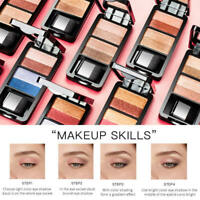 Double-layer 9 Colors Gradient Lazy Eyeshadow Womens Makeup Cosmetic New