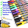 12x 6mm Liquid Chalk Marker Pens LED Writing Board Glass Window Art Pen for Kids