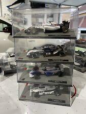 1/43 Williams Formula 1 F1 Cars, Regazzoni  79, Hill 94, Montoya 04, Bottas 14,