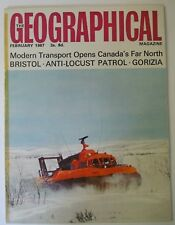 The Geographical Magazine. February, 1967. Anti-Locust War in the Sahara Bristol