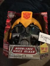 Transformers Movie 2007 Bumblebee Voice Mixer Changer Helmet Mask Electronic