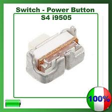 SWITCH BUTTON Tasto On/Off pulsante Power Accensione Per Samsung S4 i9505
