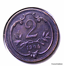 Autriche / Austria 2 heller 1904 bronze  KM#2801 AC43
