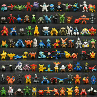 NEW 96 ps/set pvc Toy Mini Figures Monster Animation model collection Gift 2-3cm