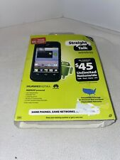 Brand New HUAWEI Ascend Y Smart Phone Straight Talk * Sealed *