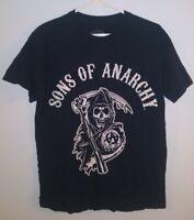 Sons Of Anarchy Reaper Road Gear Black T Shirt Biker Size Medium SAMCRO
