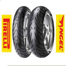 Gomme 120/70 ZR 17 180/55 ZR 17 COPPIA moto Pirelli Angel St OMAGGIO VALVOLE