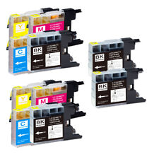 10 PK Printer Ink Cartridges for LC75 LC71 MFC-J435W MFC-J825DW MFC-J835DW