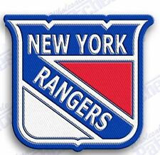 NEW YORK RANGERS NY    iron on embroidered embroidery PATCH nhl ice hockey
