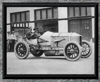 "Classic Car ... Mercedes Racer ... Antique 5""x7"" Photo Print"