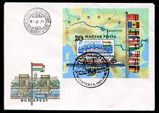 Ungarn MiNr. Block 153 B Ersttagsbrief/ FDC (C3108