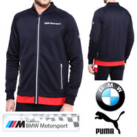 size 40 1540e d022e PUMA BMW Motorsport Mens Jacket M Series Formula 1 F1 Full Zip Track Top  Jumper
