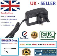 """UK 12V Power Supply Adapter Charger To Fit Lenovo Miix 2 10"""" 11"""" Tablet PC Tab"""