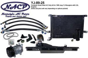 1989 Jeep Wrangler YJ AC Kit 2.5L Engine