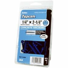 ITW Brands 24320 75PK1/4x1-3/4 Concrete Anchor