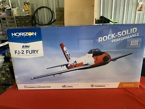 Horizon Hobby E-Flite FJ-2 FURY RC PLANE Bind n Fly AS3X NEW IN BOX