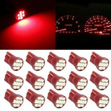 15pcs Red 8 LED Dash Instrument Speedometer Gauge Indicator Light Lamp Package