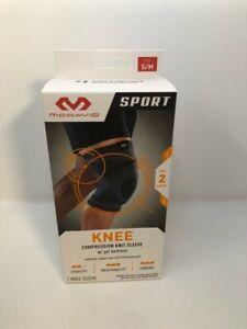 McDavid Knee Compression Knit Sleeve W/ Gel Buttress Level 2 S/M