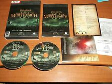 Le seigneur des anneaux la Battle for Middle Earth II 2 COLLECTORS EDITION PC-DVD