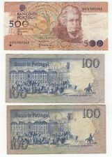 More details for portugal 100 & 500 escudos notes | bank notes | pennies2pounds
