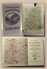 Gaebler Großer Führer vom Schwarzwald um 1930 Landeskunde Reiseführer Geografie