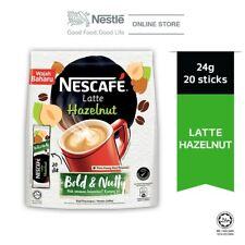 NESCAFE Latte Hazelnut (24g x 20s) + FAST SHIPPING