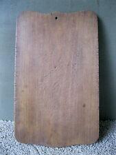 "Vintage Cutting Board Primitive Old Hardwood Dough Carving Bread, 12"" x 7"""