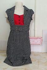Lindy Bop ~ wiggle dress ~ size 12 ~ vintage style polka dot