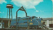 Bangor & Aroostook Train Railroad 55 Unposted Postcard