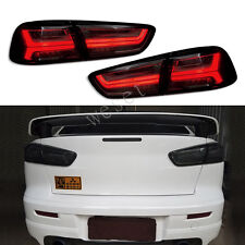 LED Tail Lights For 2008-2017 Mitsubishi Lancer/Evo X LED Rear Lamps Audi Style