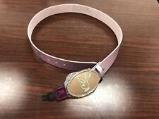 PLAYBOY BELT PINK WITH BUNNY BUCKLE