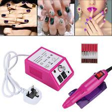 Professional Electric Acrylic Nail Art File Drill Set Manicure Machine Sand Kits