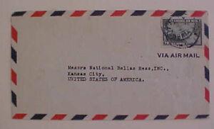 LIBERIA  MONROVIA 1940 COVER TO USA
